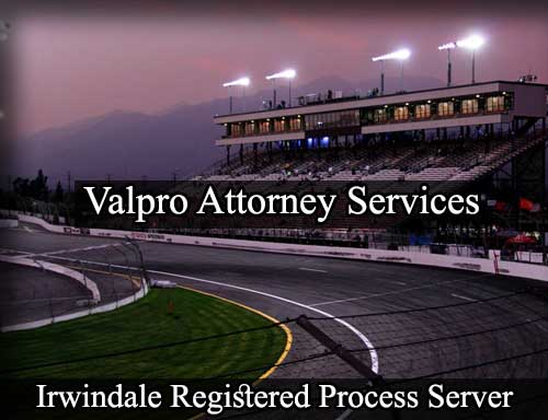 Irwindale California Registered Process Server