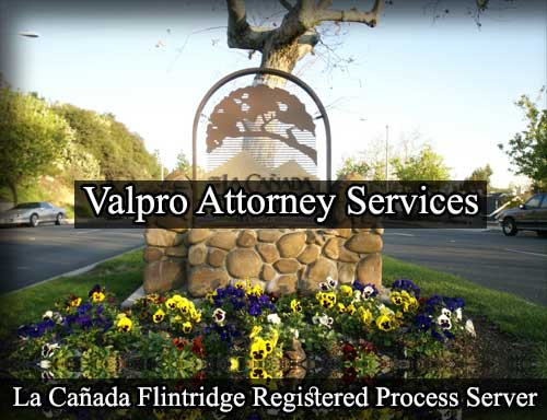 La Cañada Flintridge California Registered Process Server