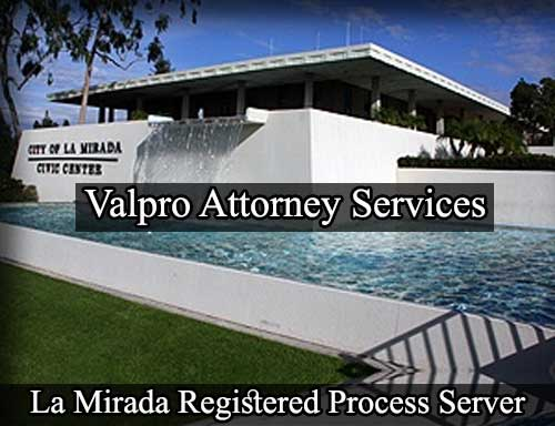 Registered Process Server La Mirada
