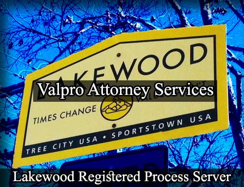 Lakewood California Registered Process Server