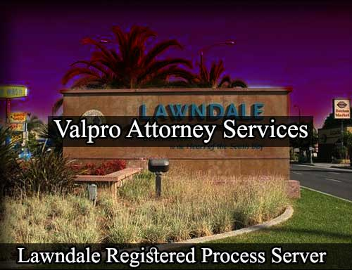 Registered Process Server Lawndale
