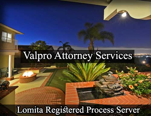 Lomita California Registered Process Server