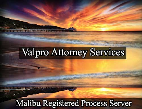 Registered Process Server Malibu