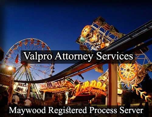 Maywood California Registered Process Server