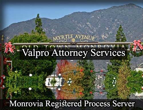 Registered Process Server Monrovia