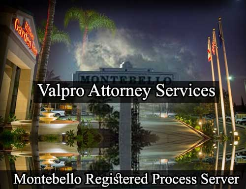 Montebello California Registered Process Server