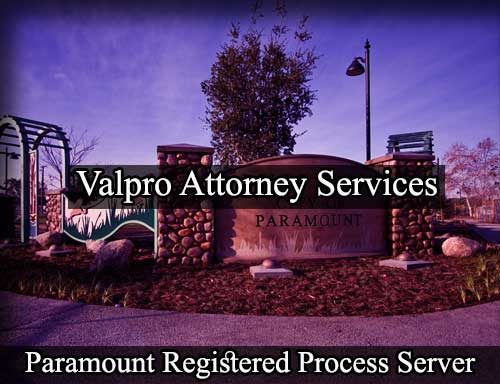 Registered Process Server Paramount