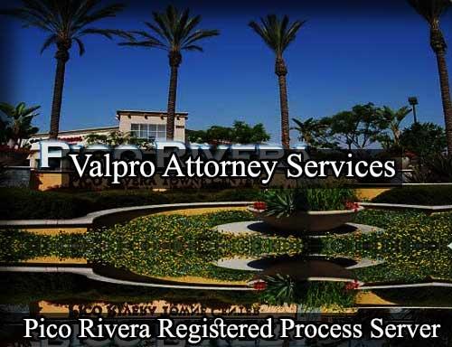 Registered Process Server Pico Rivera