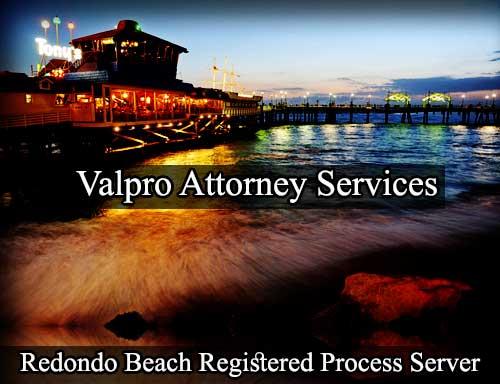 Redondo Beach California Registered Process Server