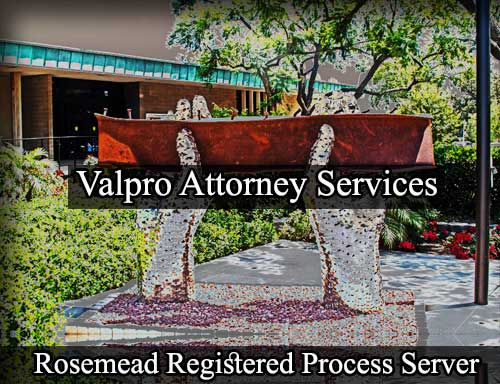 Registered Process Server Rosemead