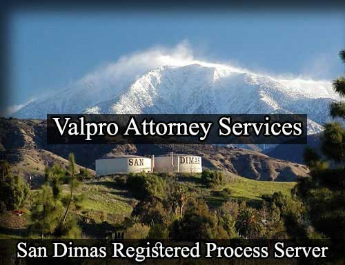 Registered Process Server San Dimas