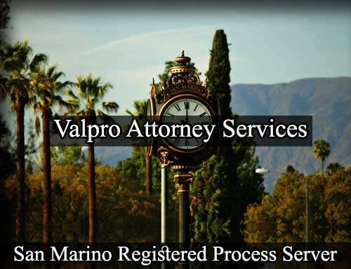 Registered Process Server San Marino