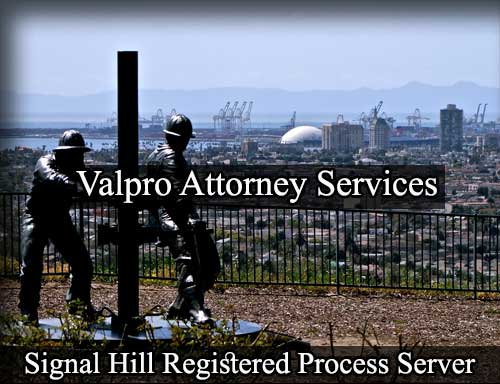 Registered Process Server Signal Hill