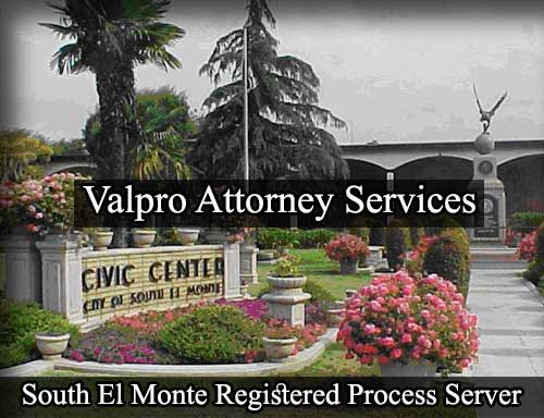 South El Monte California Registered Process Server