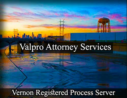 Vernon Registered Process Server