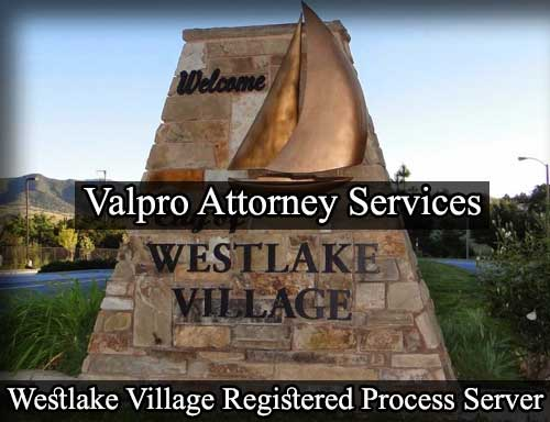 Registered Process Server Westlake Village