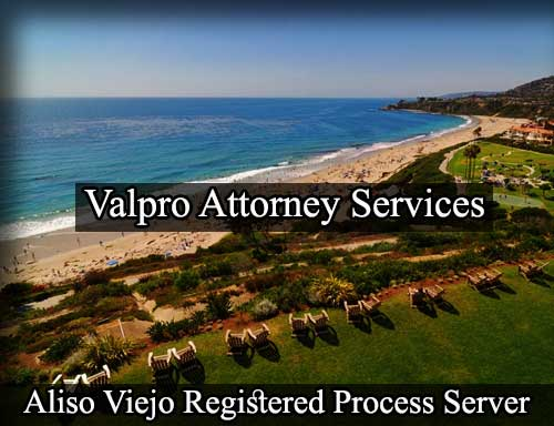 Aliso Viejo California Registered Process Server