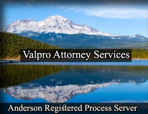Anderson California Registered Process Server