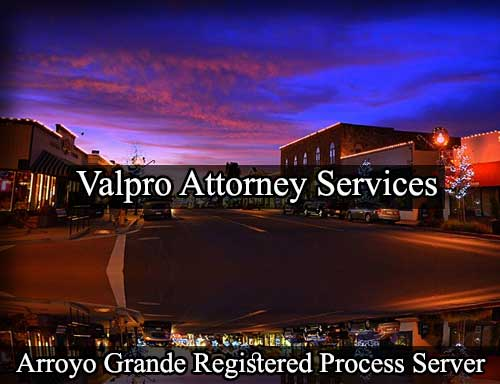 Arroyo Grande Registered Process Server