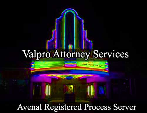 Avenal Registered Process Server