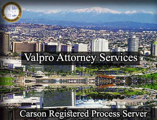 Carson California Registered Process Server