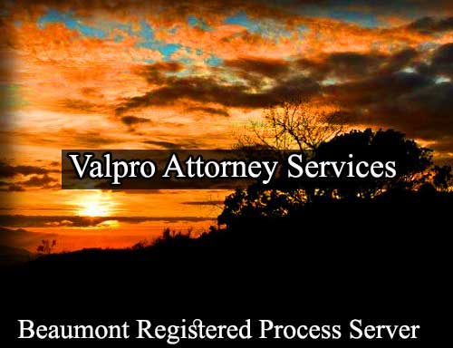 Beaumont Registered Process Server