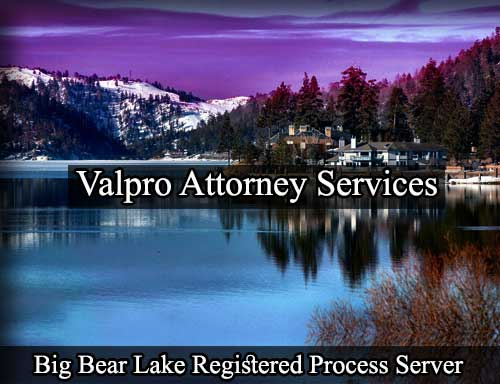 Big Bear Lake Registered Process Server