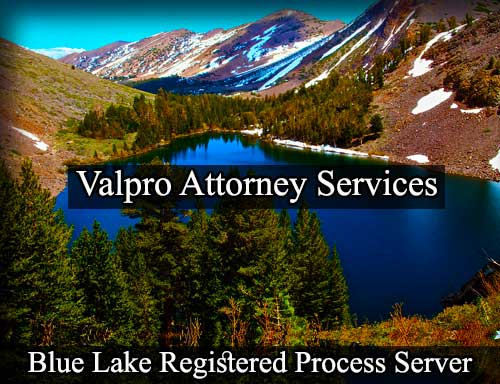 Blue Lake Registered Process Server
