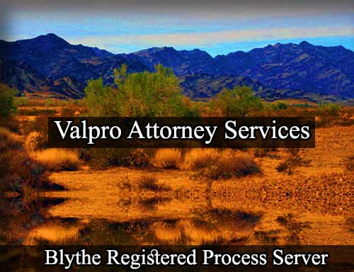 Blythe Registered Process Server