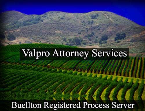 Buellton California Registered Process Server