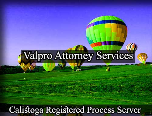 Calistoga Registered Process Server