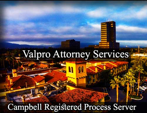 Campbell California Registered Process Server