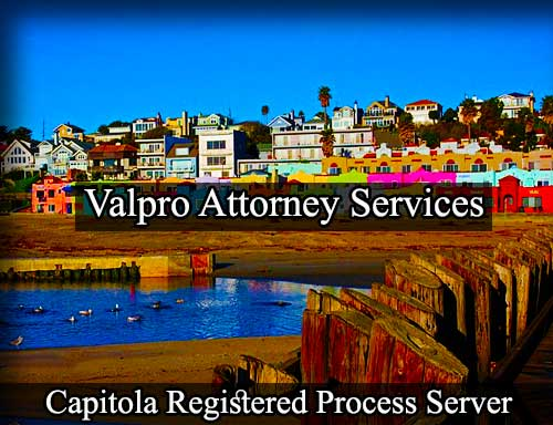 Registered Process Server Capitola California
