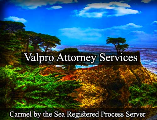 Carmel-by-the-Sea California Registered Process Server