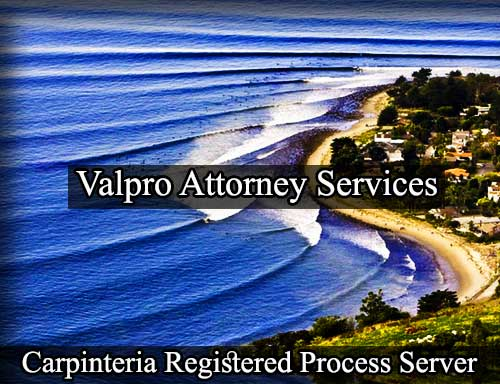Carpinteria Registered Process Server
