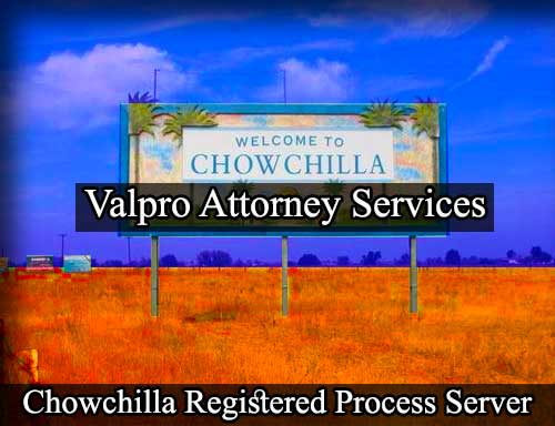 Chowchilla Registered Process Server