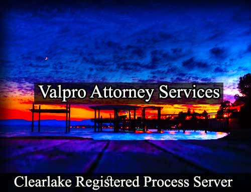 Clearlake Registered Process Server