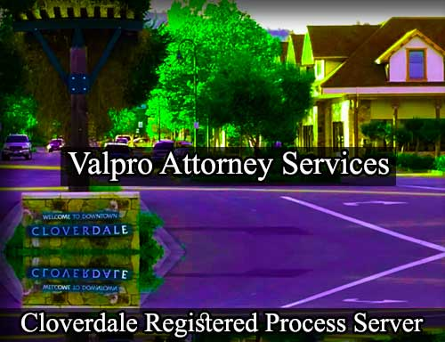 Cloverdale Registered Process Server