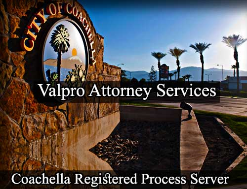 Coachella Registered Process Server