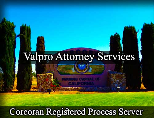 Corcoran Registered Process Server