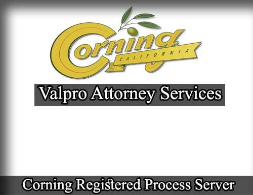 Corning Registered Process Server