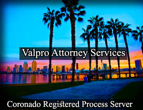 Coronado Registered Process Server