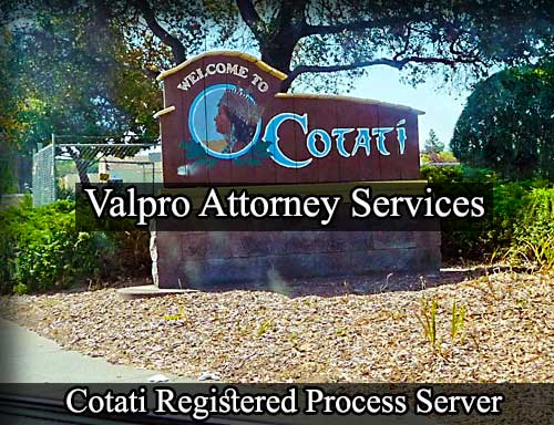 Cotati Registered Process Server