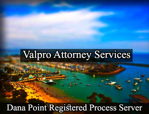 Dana Point Registered Process Server