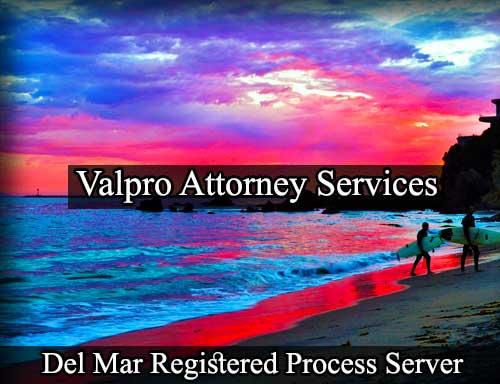 Del Mar Registered Process Server