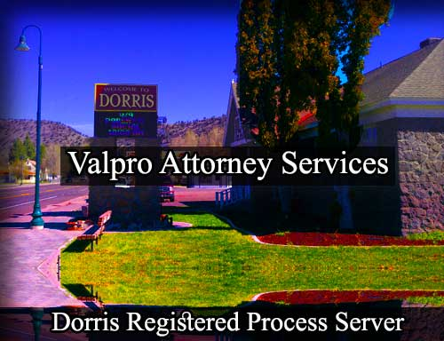 Dorris Registered Process Server