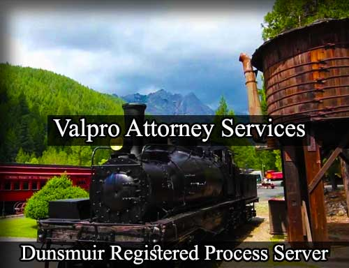 Dunsmuir Registered Process Server