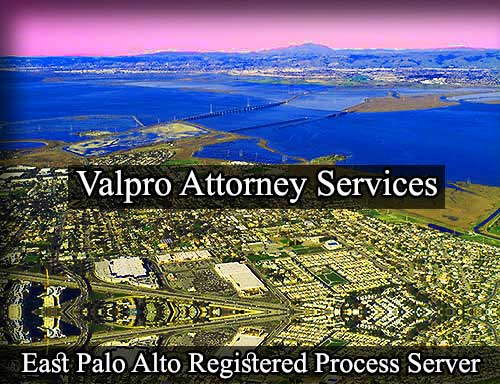 East Palo Alto Registered Process Server