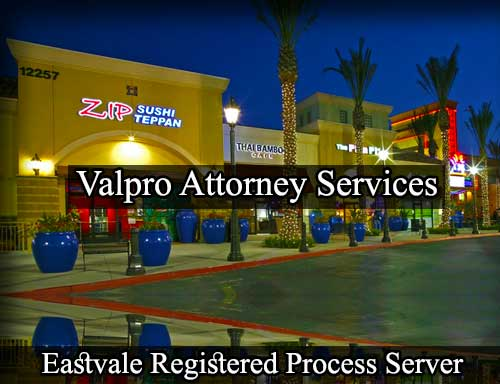 Eastvale Registered Process Server