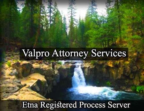 Etna Registered Process Server